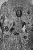 Beautiful jewellery on damsel, Halebidu