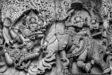War of the gods, Halebidu