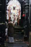 Idol inside the Chennakesava Temple, Belur