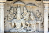 Kailasnatha temple - new carvings, Kanchipuram, India