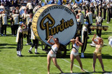 Purdue band and the World's largest drum, Purdue Boilermakers