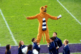 Nittany Lion can do many tricks
