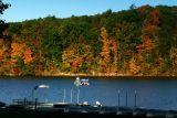 What a spot to fish, Lake Perez, PA
