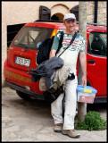 Professional birdwathcher Steve West - resident in Catalonia