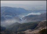 Rio Segre near Sierra del Montsec