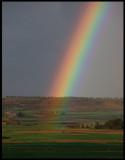 The perfect  Rainbow near Balaguer