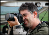 Famous professional wildlifephotographer Jordi Bas