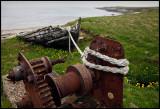 Old boat at Fetlar