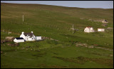 Houses at southern Shetland