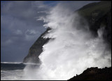 Stormwave on Corvo - The Azores