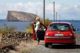 Madelene enjoying Terceira