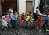 Schoolchildren in  Angra do Heroismo