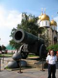 The Tsar Cannon (1586) 40 tons