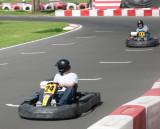 Dan and Bill karting