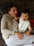 Florian et maman