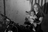 Bikers, Tattoos and a Baby
