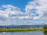 Equestrian Event at Rebecca Farm near Kalispell, Montana