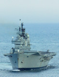 HMS Ark Royal & other visiting ships