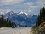 From highway 1 near Revelstoke National Park