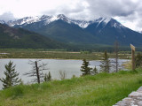 From Bow Valley Parkway Banff National Park