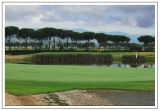 Golf de le pavoniere(toscane)