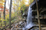 Fall color at Desoto State Park – North Alabama Mountains