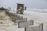 Tropical Storm Ida Storm Surge at Navarre Beach, Florida