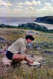 1969 - Eromanga island - building a trig point DS060418151054