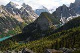 Lake Louise - Miror Lake - Lake Agnes