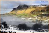 IRELAND - CO.SLIGO - KINGS MOUNTAIN COLOURS CONTRAST WITH WINTER SNOW