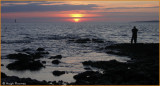 IRELAND - CO.SLGO - SUNSET AT ROSSES POINT