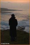 IRELAND - CO.SLIGO - ENJOYING THE SUNSET AT MULLAGHMORE