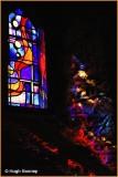 IRELAND - KILKENNY - BLACK ABBEY - STAINED GLASS WINDOW