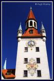 Germany - Munich - Marienplatz - Altes Rathaus (Old Town Hall)