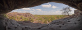 Rock Art Shelter Lookout Panorama