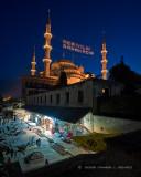 Bazaar at The Blue Mosque