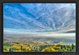 View from Kaiserstuhl to Black Forest