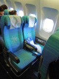 Air Tahit Nui seat