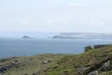 from Hor Point towards Godrevy headland and island