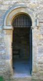 Saxon doorway with 190 deg turn on the arch