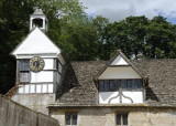 clock tower and dormer in stable court