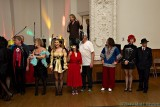 Contestants line up for the costume contest
