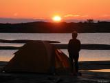 Sirkku beundrar solnedgången