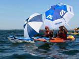 Anja och Mats seglar ifrån resten