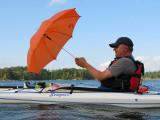 Peter B is umbrella sailing