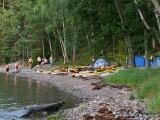 Campsite at Stora Hästnacken