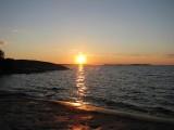 Solnedgånen sedd från Rödgloskär N7