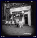 outside Sid's Café