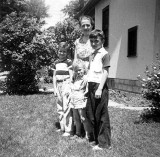 Dale Kevin Lynn and Mother 1956