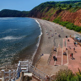 West beach, Sidmouth
